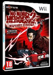 No More Heroes 2:Desperate Struggle pochette Wii (RUYP99)