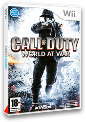 Call of Duty: World at War pochette Wii (RVYY52)