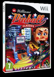 Williams Pinball Classics pochette Wii (RWCP6M)