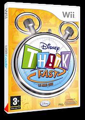 Disney Th!nk Fast - Le Maxi Quiz pochette Wii (RXDD4Q)