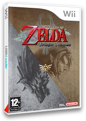 The Legend of Zelda: Twilight Princess pochette Wii (RZDP01)