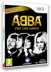 ABBA:You Can Dance pochette Wii (S2EP41)