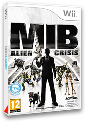 Men in Black:Alien Crisis pochette Wii (S3ZP52)