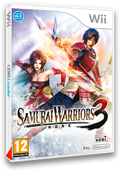 Samurai Warriors 3 pochette Wii (S59P01)