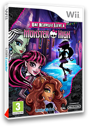 Monster High:une nouvelle élève à Monster High pochette Wii (S5MPVZ)