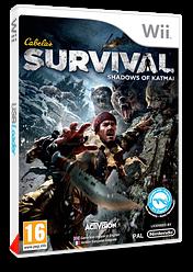 Cabela's Survival: Shadows of Katmai pochette Wii (SAJP52)