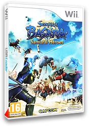 Sengoku Basara:Samurai Heroes pochette Wii (SB3P08)
