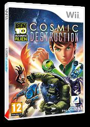 Ben 10: Ultimate Alien Cosmic Destruction pochette Wii (SBJPAF)