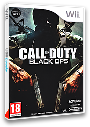Call of Duty: Black Ops pochette Wii (SC7D52)