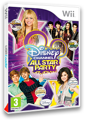 Disney Channel : All Star Party pochette Wii (SDGP4Q)