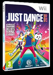 Just Dance 2018 pochette Wii (SE8P41)