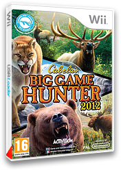 Cabela's Big Game Hunter 2012 pochette Wii (SH6P52)