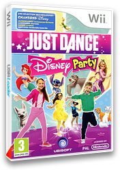 Just Dance Disney Party pochette Wii (SJ6P41)