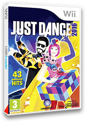 Just Dance 2016 pochette Wii (SJNP41)
