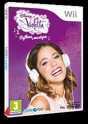 Disney Violetta:Rythme et musique pochette Wii (SK7PVZ)