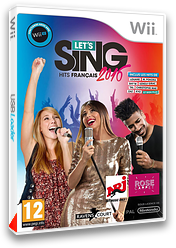 Let's Sing 2016:Hits Français pochette Wii (SLKPKM)