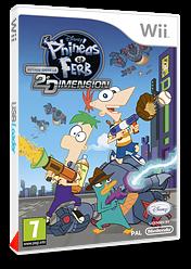 Phineas et Ferb:Voyage dans la Deuxième Dimension pochette Wii (SMFP4Q)