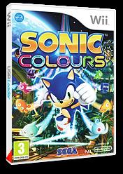 Sonic Colours pochette Wii (SNCP8P)