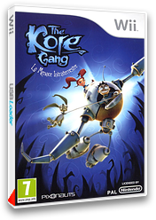 The Kore Gang : La Menace Intraterrestre pochette Wii (SP5PVV)