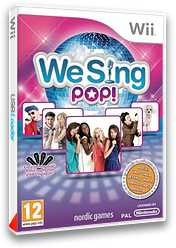 We Sing Pop! pochette Wii (SQEPNG)
