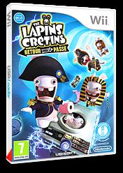 The Lapins Crétins :Retour vers le Passé pochette Wii (SR4P41)