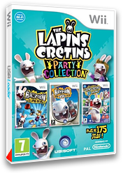 The Lapins Crétins Party Collection pochette Wii (SR5P41)