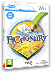 Pictionary pochette Wii (STAP78)