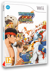 Tatsunoko vs. Capcom : Ultimate All-Stars pochette Wii (STKP08)