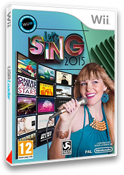 Let's Sing 2015 pochette Wii (SY8PKM)