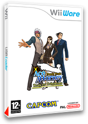 Phoenix Wright Ace Attorney:Trials and Tribulations pochette WiiWare (W3GP)