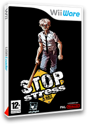 Stop Stress : A Day of Fury pochette WiiWare (W44P)