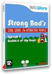 Strong Bad Episode 3:Baddest of the Bands pochette WiiWare (WBZP)