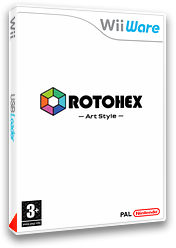 ArtStyle:ROTOHEX pochette WiiWare (WDHP)