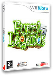 Furry Legends pochette WiiWare (WFUP)