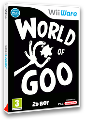 World of Goo pochette WiiWare (WGOP)