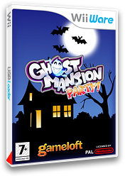 Ghost Party pochette WiiWare (WHUP)