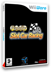 Family Slot Car Racing pochette WiiWare (WOSP)