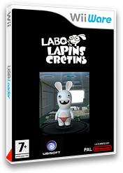 Labo Lapins Crétins pochette WiiWare (WR2P)
