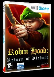 Robin Hood:Le Retour de Richard pochette WiiWare (WRRP)