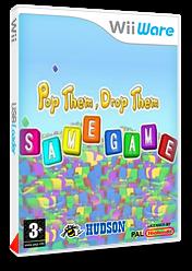 Pop Them, Drop Them SAMEGAME pochette WiiWare (WSGP)