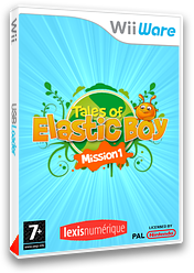 Tales of Elastic Boy Mission 1 pochette WiiWare (WTEP)