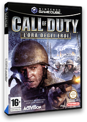 Call of Duty: L'Ora Degli Eroi GameCube cover (GCOP52)