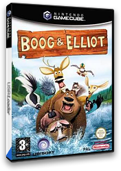 Boog & Elliot GameCube cover (GOSX41)