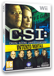 CSI: Intento Mortale Wii cover (R5UP41)