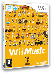 Wii Music Wii cover (R64P01)