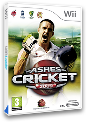 Ashes Cricket 2009 Wii cover (R6KP36)