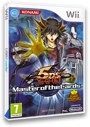 Yu-Gi-Oh! 5D's: Master of the Cards Wii cover (R8DPA4)