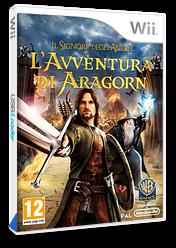 Il Signore degli Anelli:L'Avventura di Aragorn Wii cover (R8JPWR)