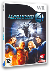 I Fantastici 4: E Silver Surfer Wii cover (RF2P54)