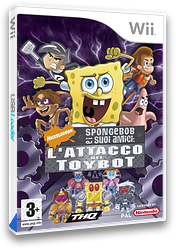 SpongeBob e i suoi amici: L'Attacco dei Toybot Wii cover (RN3P78)